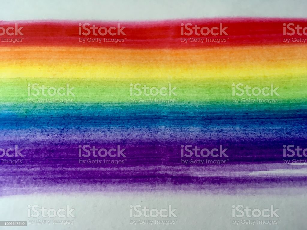 Rainbow, watercolor, paint, colors, flag, creative, art, abstract,...