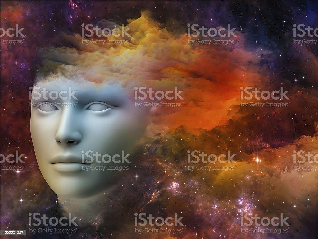 Rainbows of the Mind stock photo