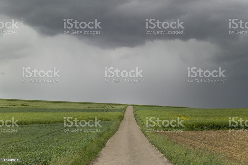 Rainclouds royalty-free stock photo