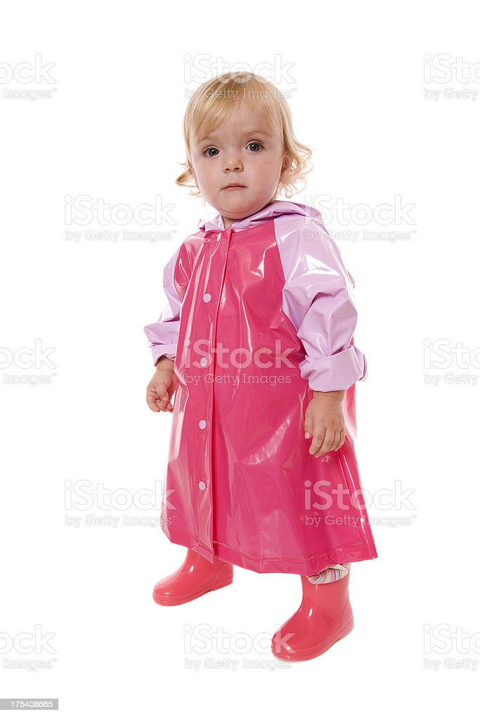 e7d835785 Raincoat Baby Stock Photo   More Pictures of 12-23 Months