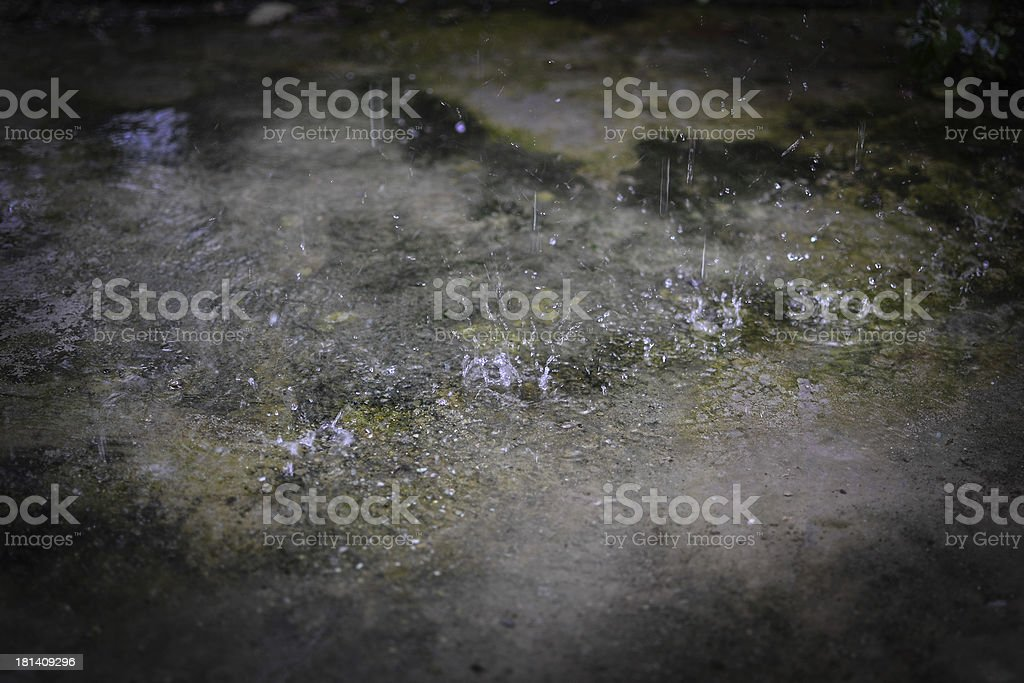 raindrop royalty-free stock photo