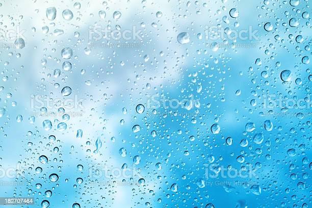 Photo of Raindrops on Window