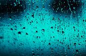 USD rain on black background