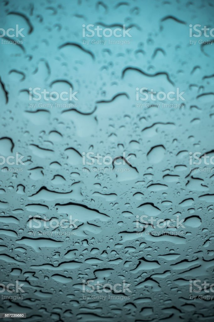 Raindrops Texture stock photo