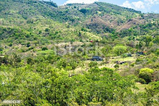 Rainforest Village in Honduras