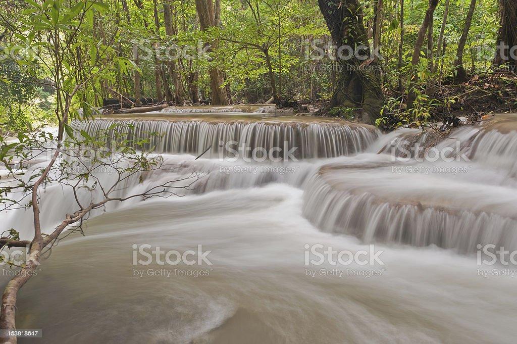 Rainforest waterfalls royalty-free stock photo
