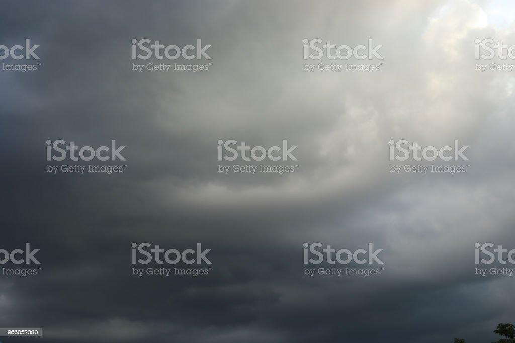 regent van de wolk voor achtergrond - Royalty-free Achtergrond - Thema Stockfoto