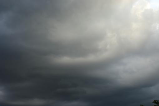 Regent Van De Wolk Voor Achtergrond Stockfoto en meer beelden van Achtergrond - Thema