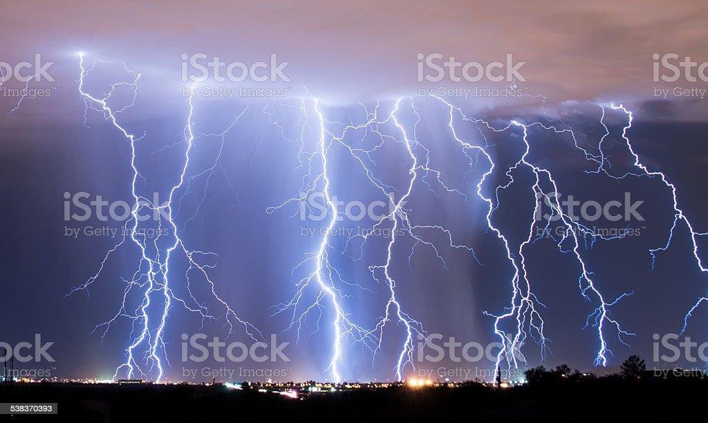 Raining Down stock photo