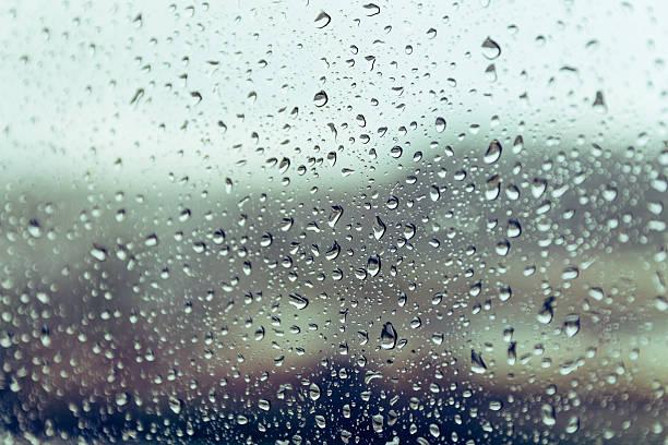 raining on the glass off window ferry boats for background. - dampfreiniger fenster stock-fotos und bilder