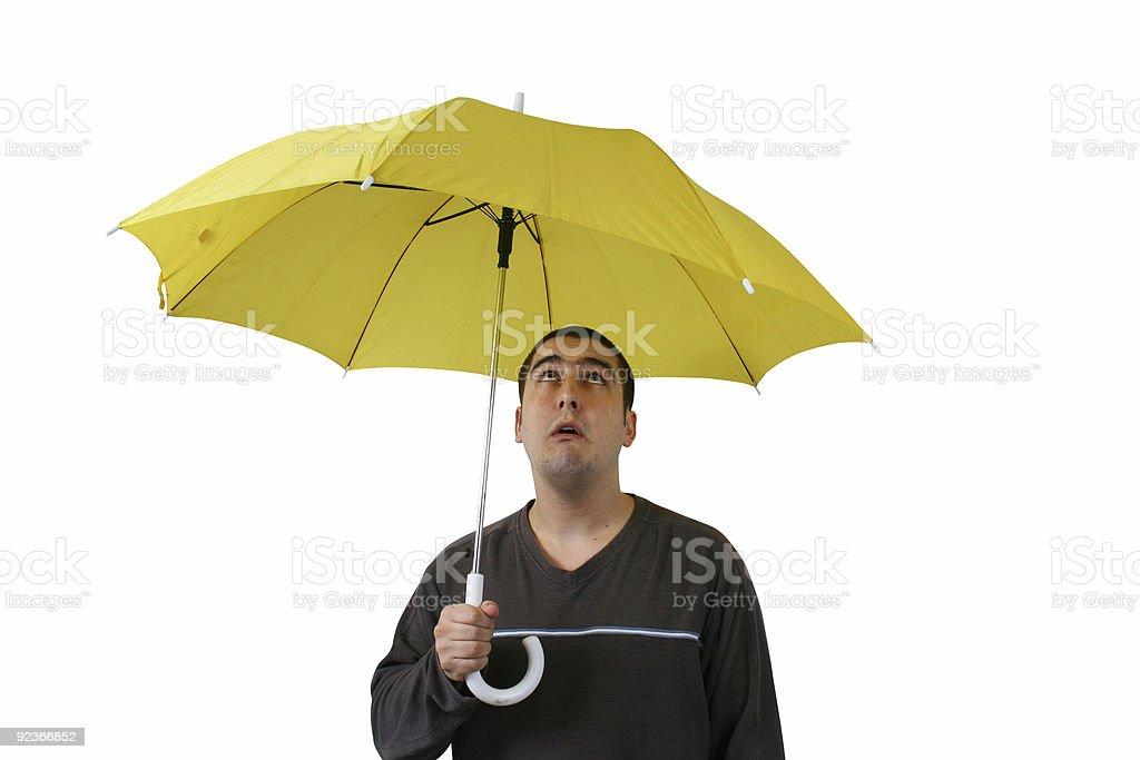 raining overhead royalty-free stock photo