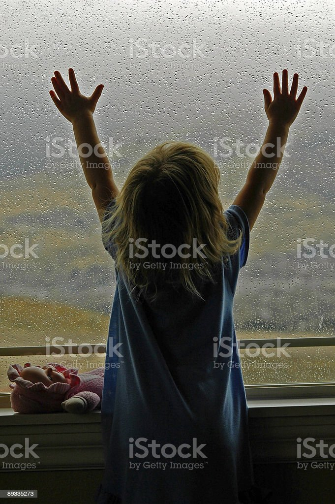Rainy Day Disappointment royalty-free stock photo