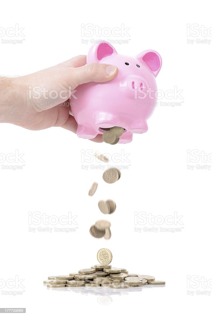 rainy day funds stock photo