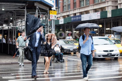 istock Rainy day in NYC. 458566687