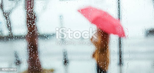 Rainy Day Outdoor silhouette