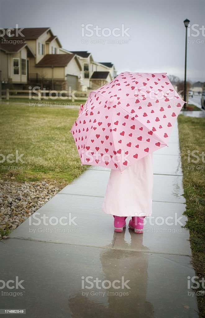Rainy Day royalty-free stock photo
