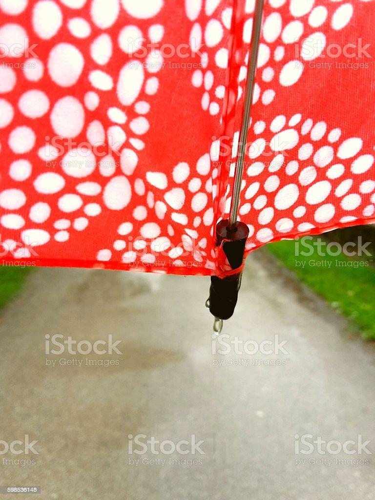Jour de pluie  photo libre de droits