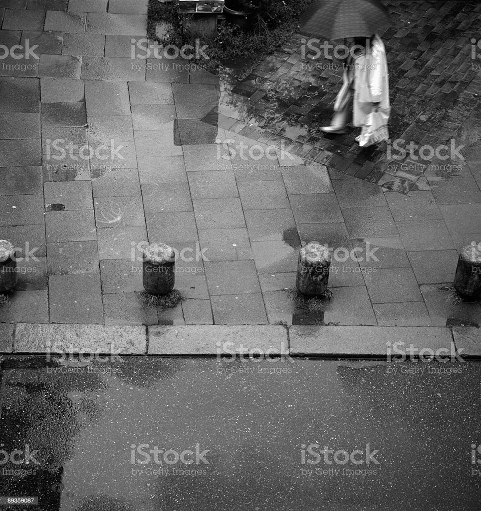 Giorno di pioggia foto stock royalty-free