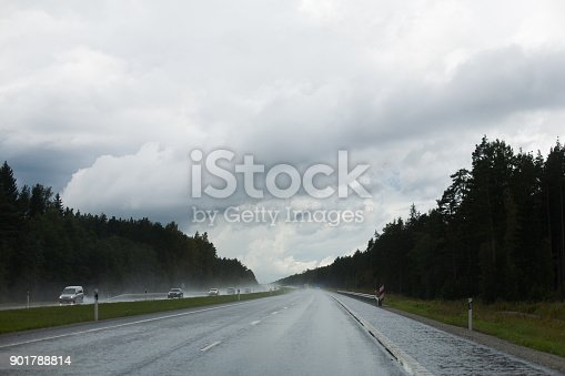 1054750504 istock photo Rainy highway 901788814