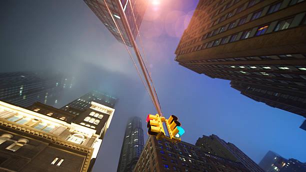 Rainy Wolkenkratzer – Foto