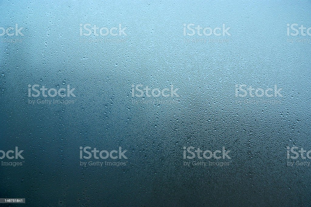 Rainy window royalty-free stock photo