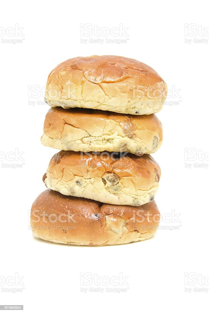 raisin bread royalty-free stock photo