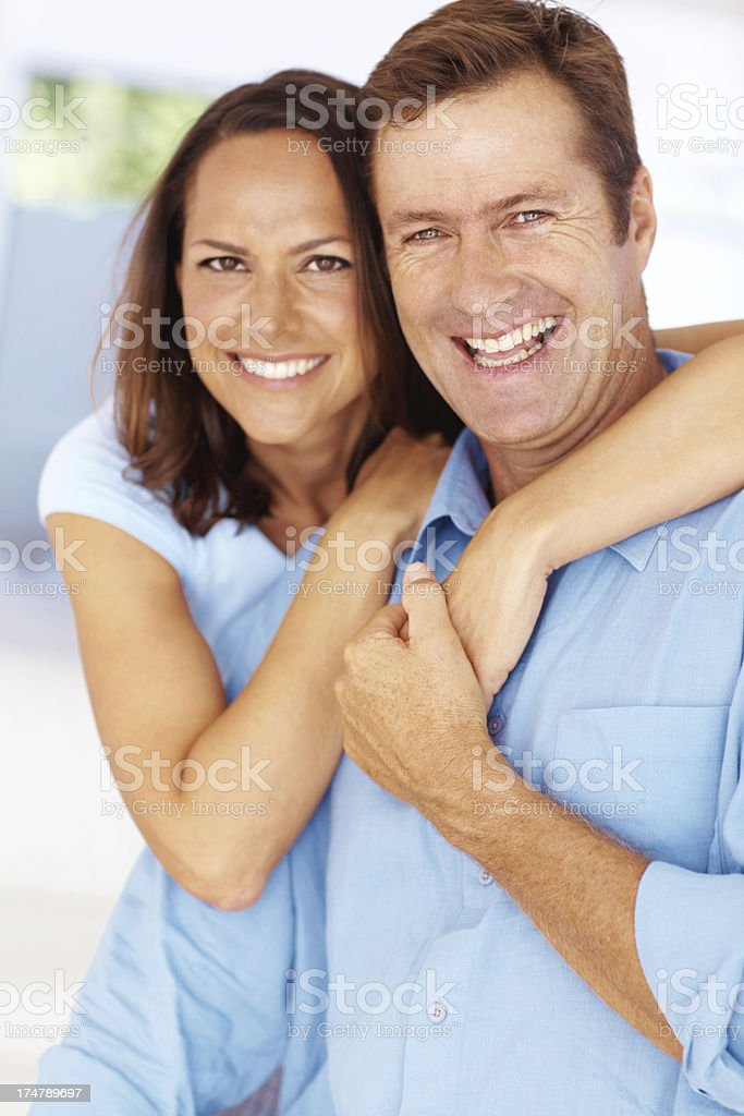 Raising each other's spirits! royalty-free stock photo