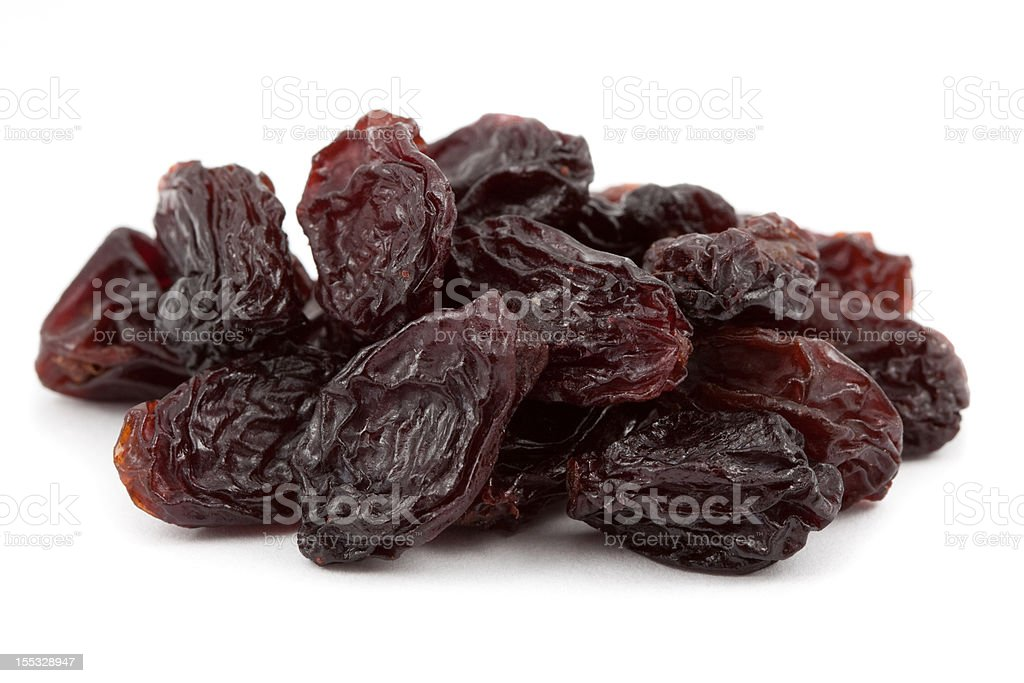 Raisins stock photo