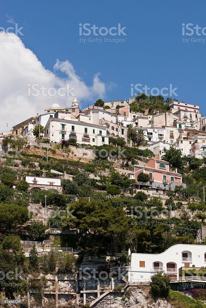 Raito  (little town in Amalfi coast,Italy) royalty-free stock photo