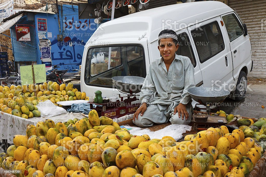 Raja バザールで Rawalpindi ,パキスタン - アジアおよびインド民族のロイヤリティフリーストックフォト