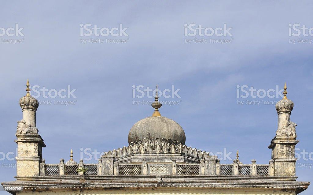 Raja's tomb royalty-free stock photo