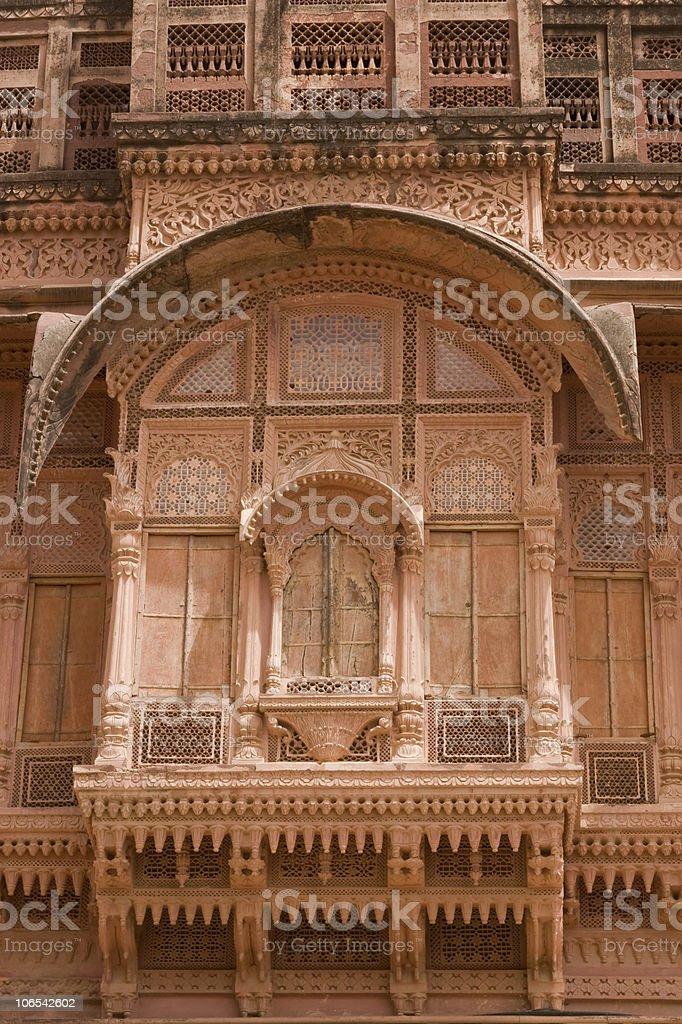 Rajput Palace royalty-free stock photo
