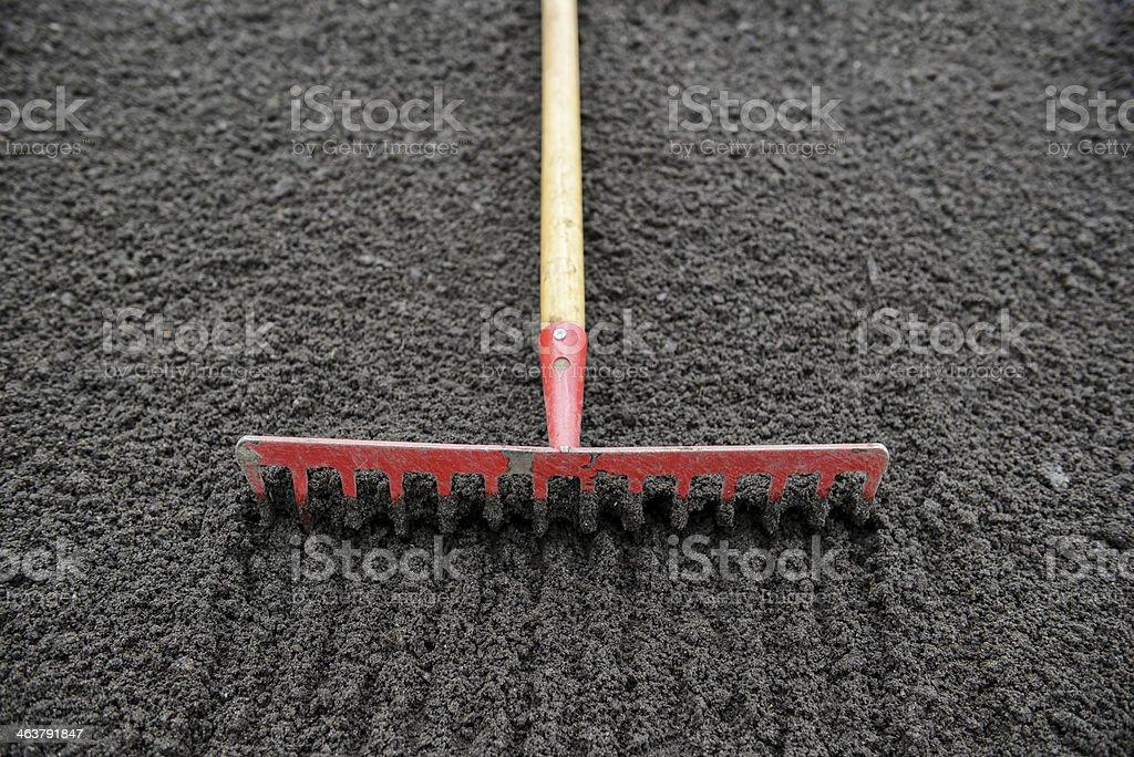 rake stock photo