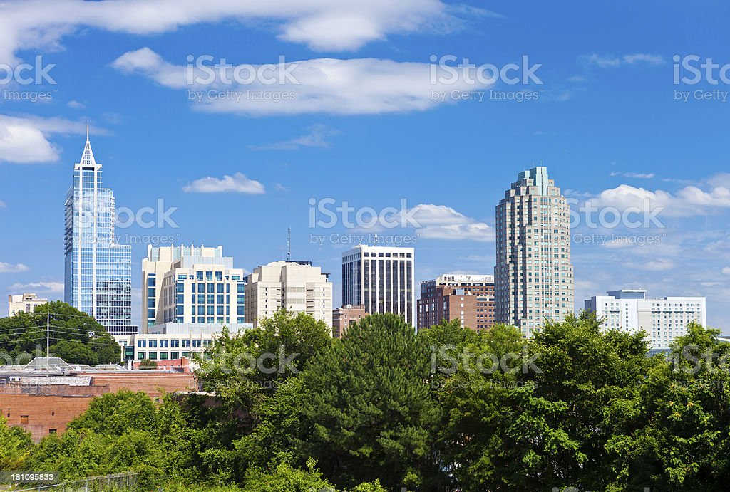 Raleigh, North Carolina royalty-free stock photo