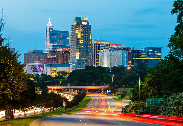 Raleigh, North Carolina stock photo