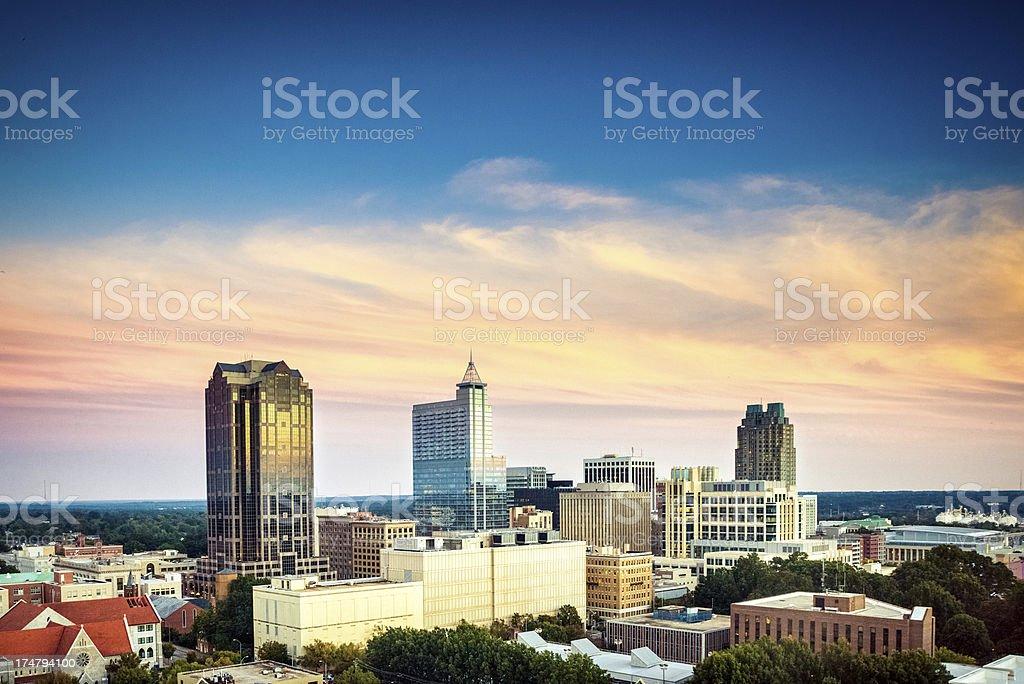 Skyline von Raleigh – Foto