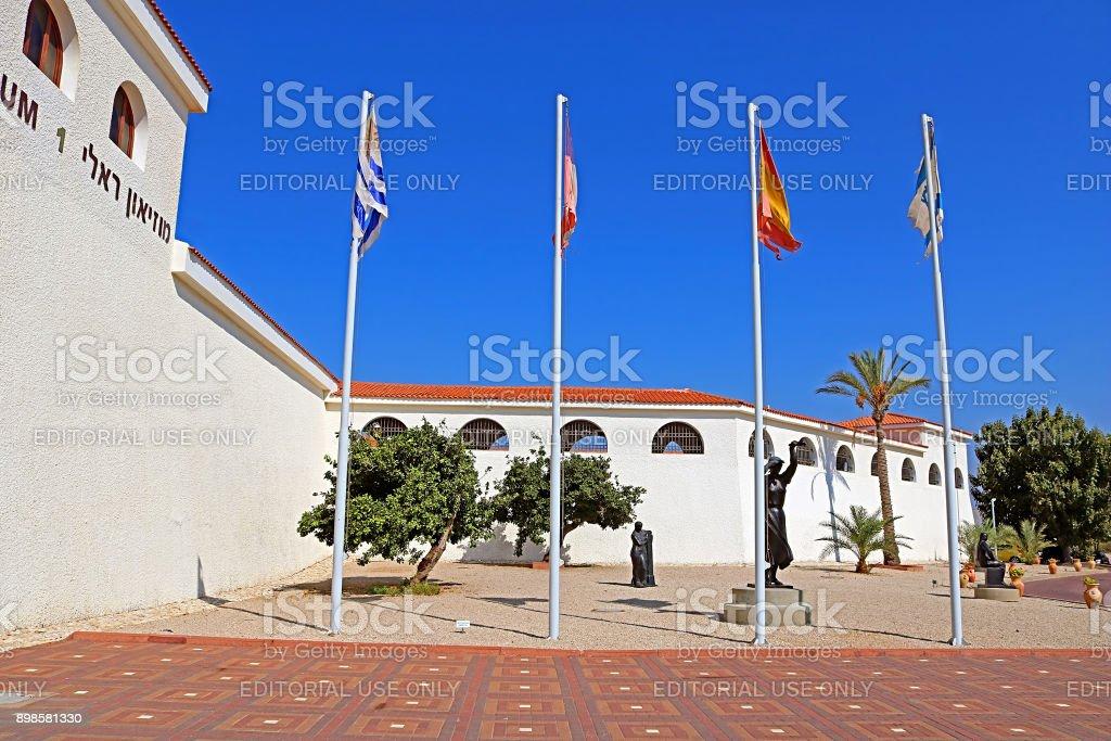 Ralli museum for classical art, Caesarea, Israel. Ralli Museums own...