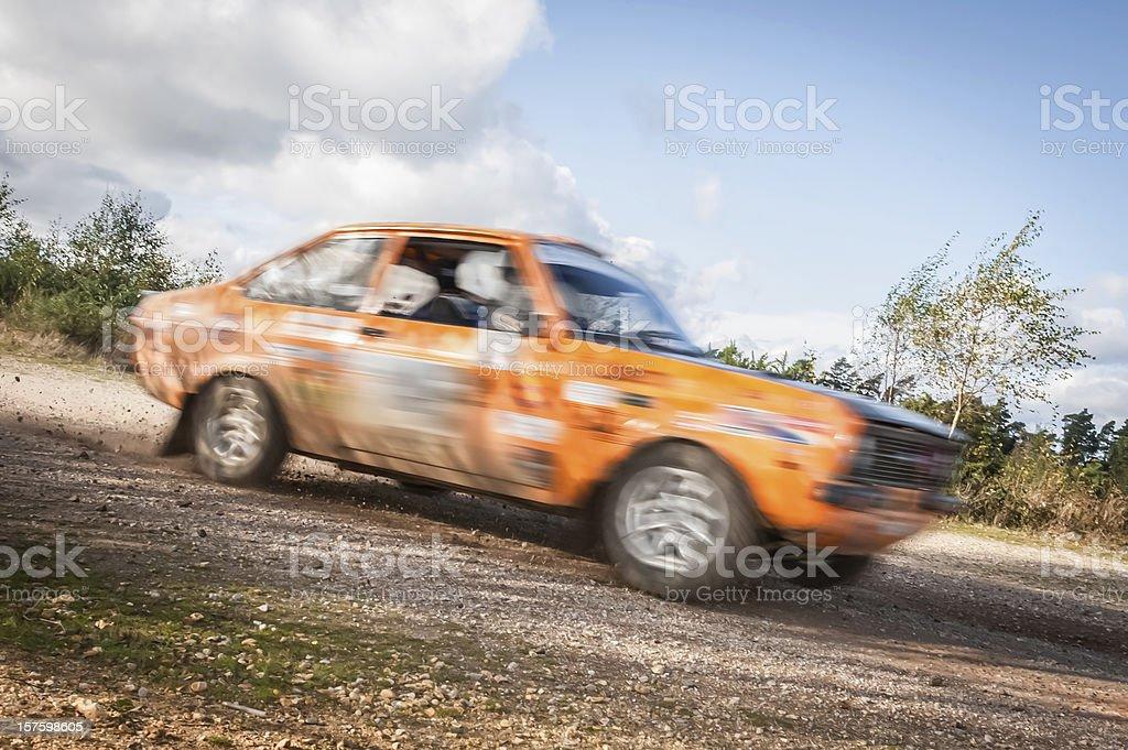 rally car stock photo