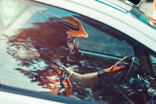 Rallye-Fahrer – Foto