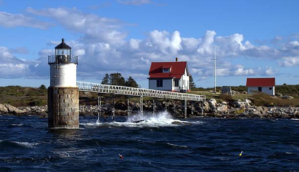 Ram Island Lighthouse, Maine, USA – Foto