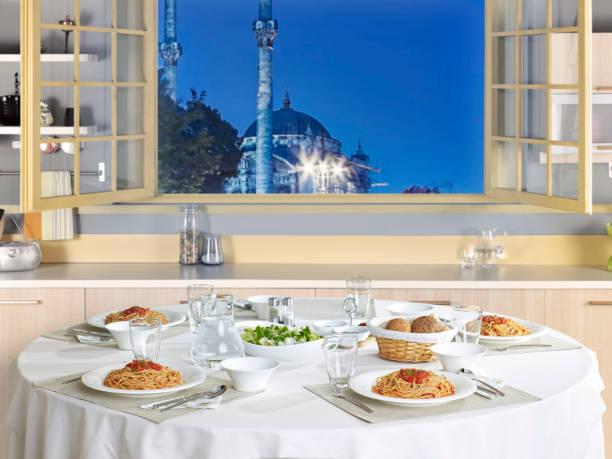 Ramadan-Dinnertisch – Foto