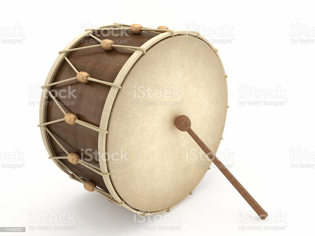 Ramadan drum stock photo