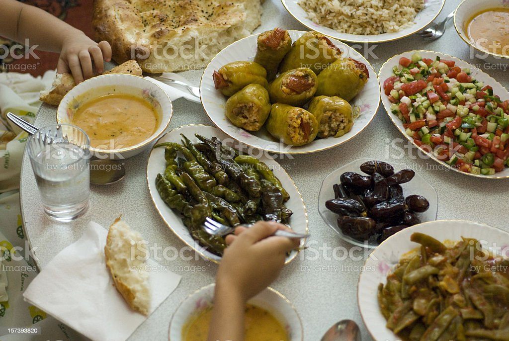 Ramadan Food, Istanbul, Turkey stock photo