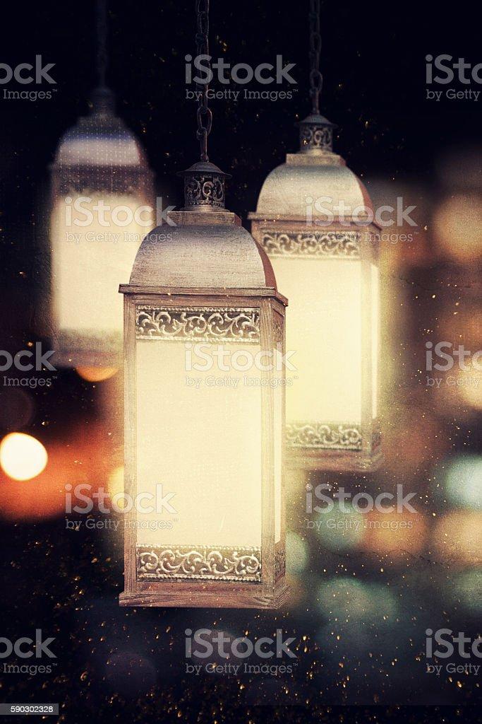 Ramadan lantern royaltyfri bildbanksbilder