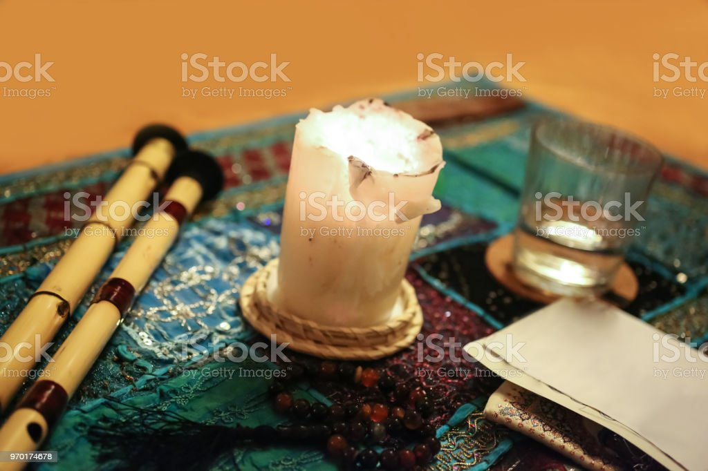 Ramadan Prayer Ritual Space Stock Photo & More Pictures of