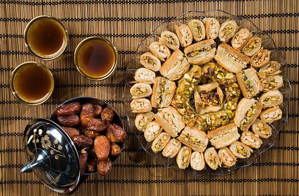 O Ramadan doces - foto de acervo