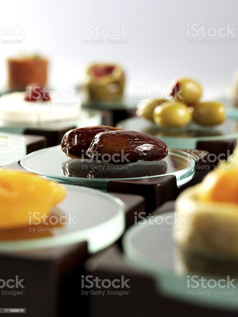 Ramadan table royalty-free stock photo