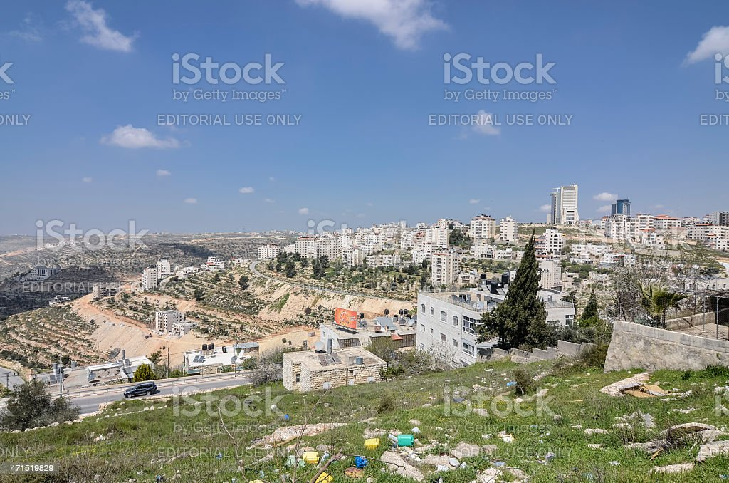 Ramallah Palestine stock photo