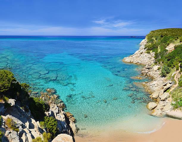 Ramatuelle near St-Tropez, Cote d'Azur, Southern France Cap Camarat, L´Escalet Beach near St-Tropez, Cote d'Azur, Southern France var stock pictures, royalty-free photos & images