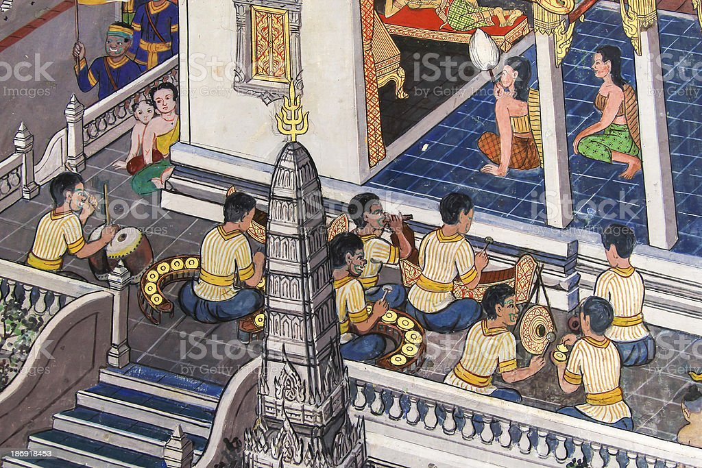 ramayana royalty-free stock photo